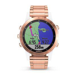 Garmin Damenuhr Fenix 5s Plus 010-01987-11 - Smartwatches Damen | Oro Vivo