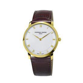 Frederique Constant Herrenuhr Slimline Midsize - Black Friday Herren | Oro Vivo