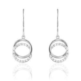 Damen Ohrhänger Silber 925 Zirkonia - Ohrhänger Damen | Oro Vivo
