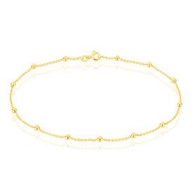 Damen Fußkette Silber 925 Vergoldet -  Damen | Oro Vivo