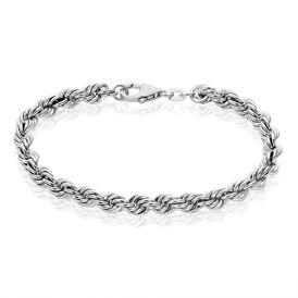 Damenarmband Kordelkette Silber 925  - Armketten Damen   Oro Vivo