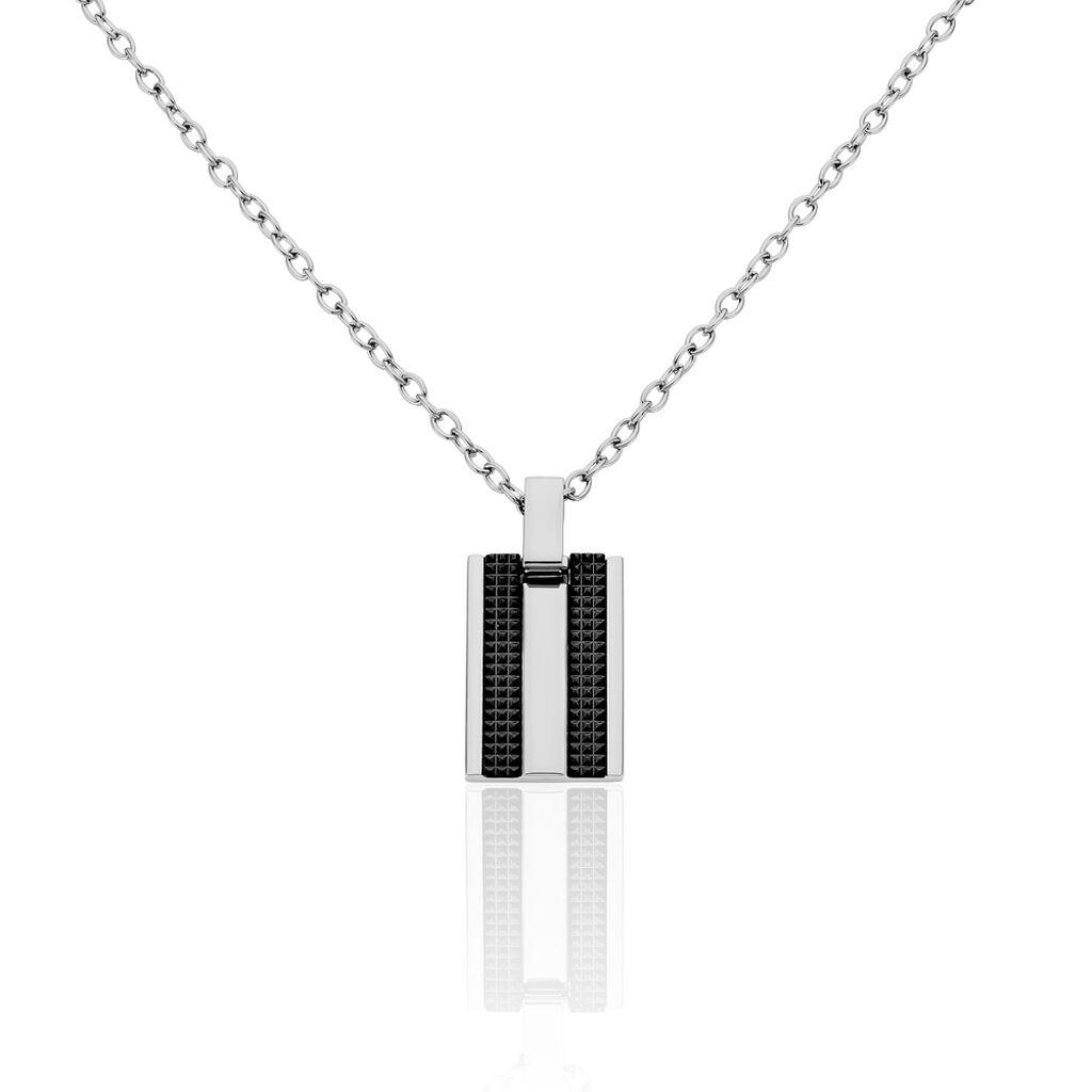 Herren Halskette Edelstahl - Ketten mit Anhänger Herren   Oro Vivo