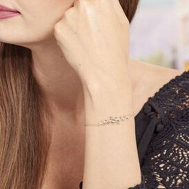 Damenarmband Vergoldet Blätter  -  Damen | Oro Vivo
