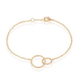 Damenarmband Vergoldet Doppelt Kreis  - Armbänder Damen   Oro Vivo