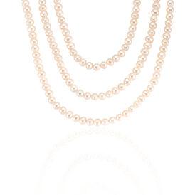 Damen Collier Zuchtperle 6-7mm - Ketten mit Stein Damen | Oro Vivo