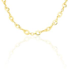 Damen Collier Gold 585 45cm  - Ketten ohne Anhänger Damen | Oro Vivo
