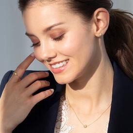 Damen Ohrstecker Silber 925 Vergoldet Sonne - Kategorie Damen | Oro Vivo