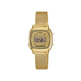 Casio Collection Damenuhr La670wemy-9ef Digital - Chronographen Damen | Oro Vivo