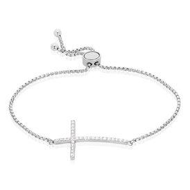 Damenarmband Veneziakette Silber 925 Kreuz - Armbänder Damen | Oro Vivo