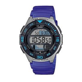 Casio Collection Herrenuhr Ws-1100h-2avef Digital - Chronographen Herren   Oro Vivo