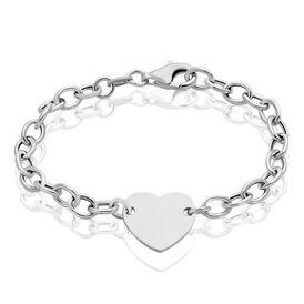 Damenarmband Silber 925 Herz - Personalisierte Geschenke Damen | Oro Vivo