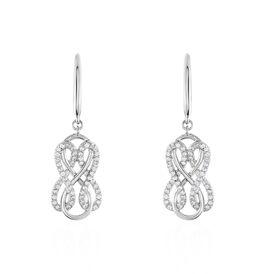 Damen Ohrhänger Lang Silber 925 Zirkonia -  Damen | Oro Vivo