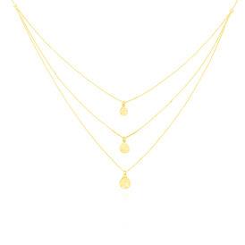 Damen Halskette Gold 375  - Ketten ohne Stein    Oro Vivo
