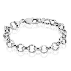 Damenarmband Erbskette Silber 925  -  Damen   Oro Vivo