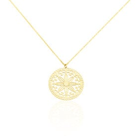 Damen Halskette Gold 375  - Ketten mit Anhänger Damen | Oro Vivo