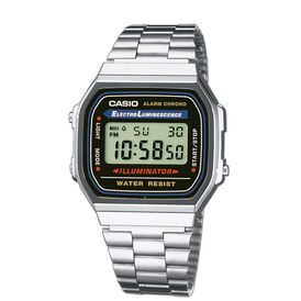 Casio Collection Herrenuhr A168wa-1yes Retro -  Herren | Oro Vivo