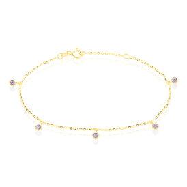 Damenarmband Gold 375 Zirkonia - Armbänder Familie | Oro Vivo