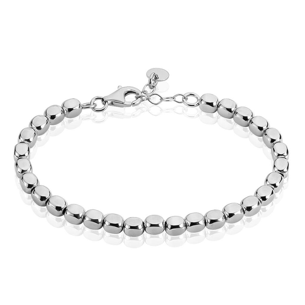 Damenkugelarmband Kugelkette Silber 925  - Armbänder Damen   Oro Vivo