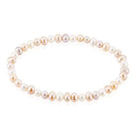 Damen Perlenarmband Silber 925 Zuchtperle -  Damen | Oro Vivo