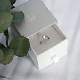 Damenring Weißgold 375 Zirkonia - Kategorie Damen | Oro Vivo