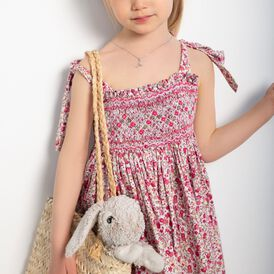 Kinder Halskette Silber 925 Zirkonia Libelle - Ketten mit Anhänger Kinder | Oro Vivo