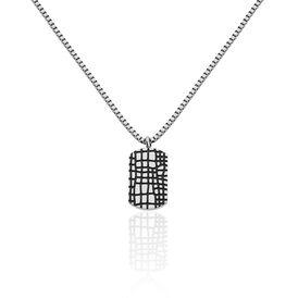 Herren Halskette Edelstahl Dog Tag - Ketten mit Anhänger Herren | Oro Vivo