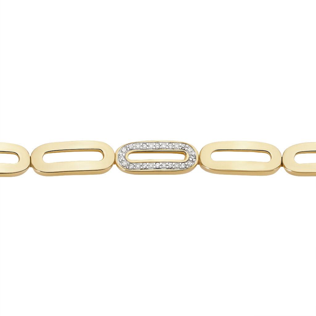 Damenarmband Vergoldet Zirkonia - Armbänder Damen | Oro Vivo