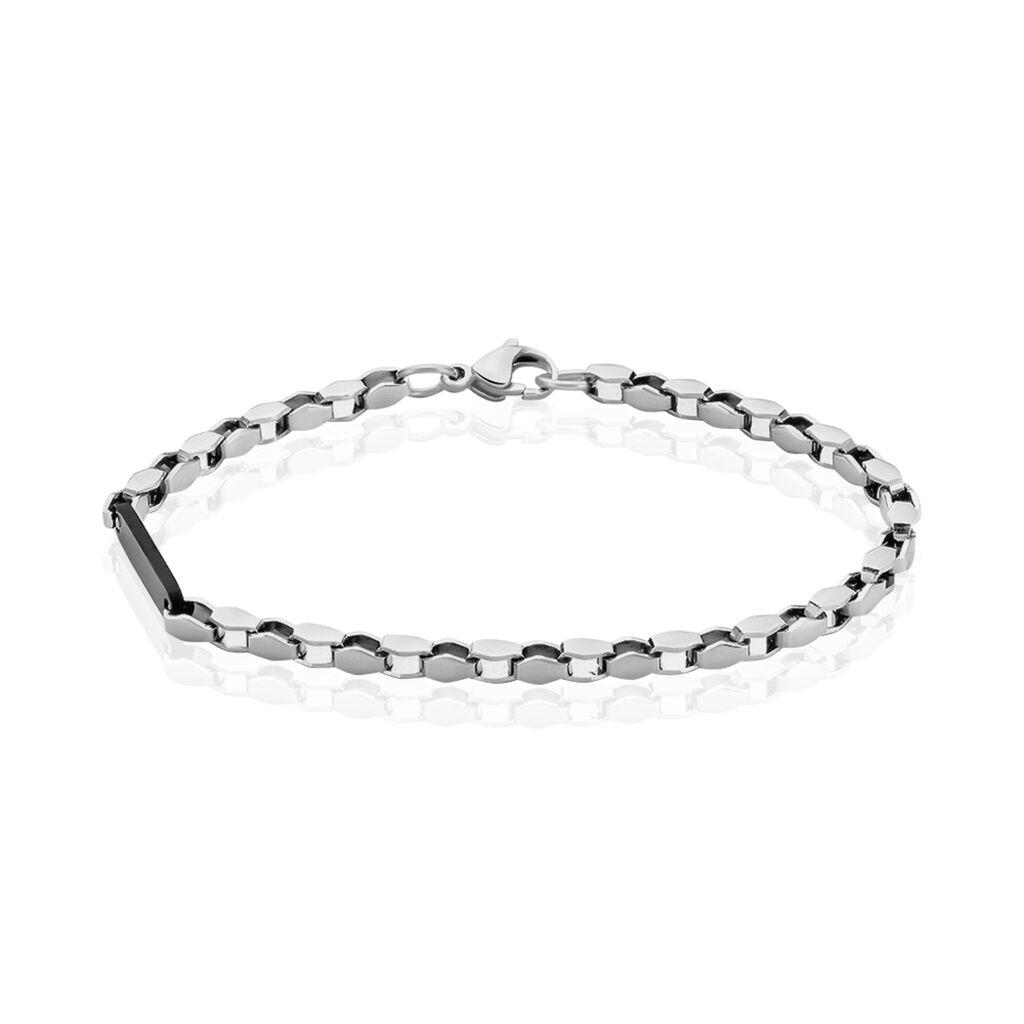 Herrenarmband Edelstahl - Armbänder Herren   Oro Vivo