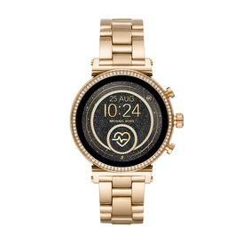 Michael Kors Damenuhr Sofie Mkt5062 Smartwatch -  Damen   Oro Vivo