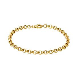 Damenarmband Erbskette Gold 375  -  Damen | Oro Vivo