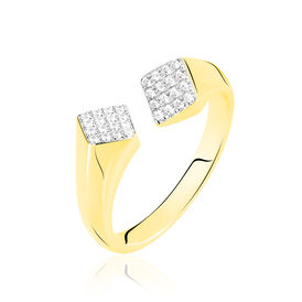 Damenring Gold 375 Zirkonia -  Damen | Oro Vivo