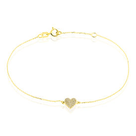 Damenarmband Gold 375 Herz - Armbänder Damen   Oro Vivo