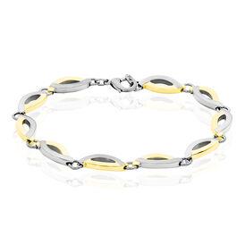 Boccia Damenarmband Titan Vergoldet Bicolor -  Damen | Oro Vivo