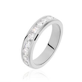 Damenring Silber 925 Zirkonia - Eheringe Damen | Oro Vivo