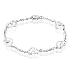 Damenarmband Silber 925 Zirkonia Herz - Armbänder Familie | Oro Vivo
