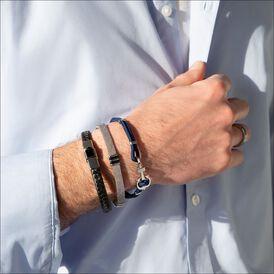 Herrenarmband Seilband Edelstahl Anker - Armbänder Herren | Oro Vivo
