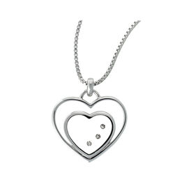Damen Halskette Silber 925 Diamant 0,027ct -  Damen | Oro Vivo