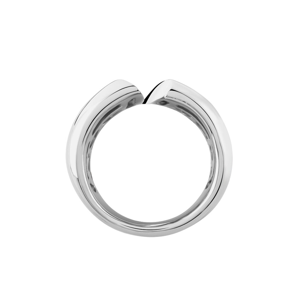 Damenring Silber 925 Zirkonia - Ringe mit Stein Damen   Oro Vivo