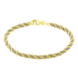 Damenarmband Gold 585 Bicolor  -  Damen | Oro Vivo