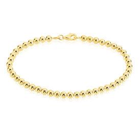 Damenarmband Kugelkette Silber 925 Vergoldet  - Armketten Damen | Oro Vivo