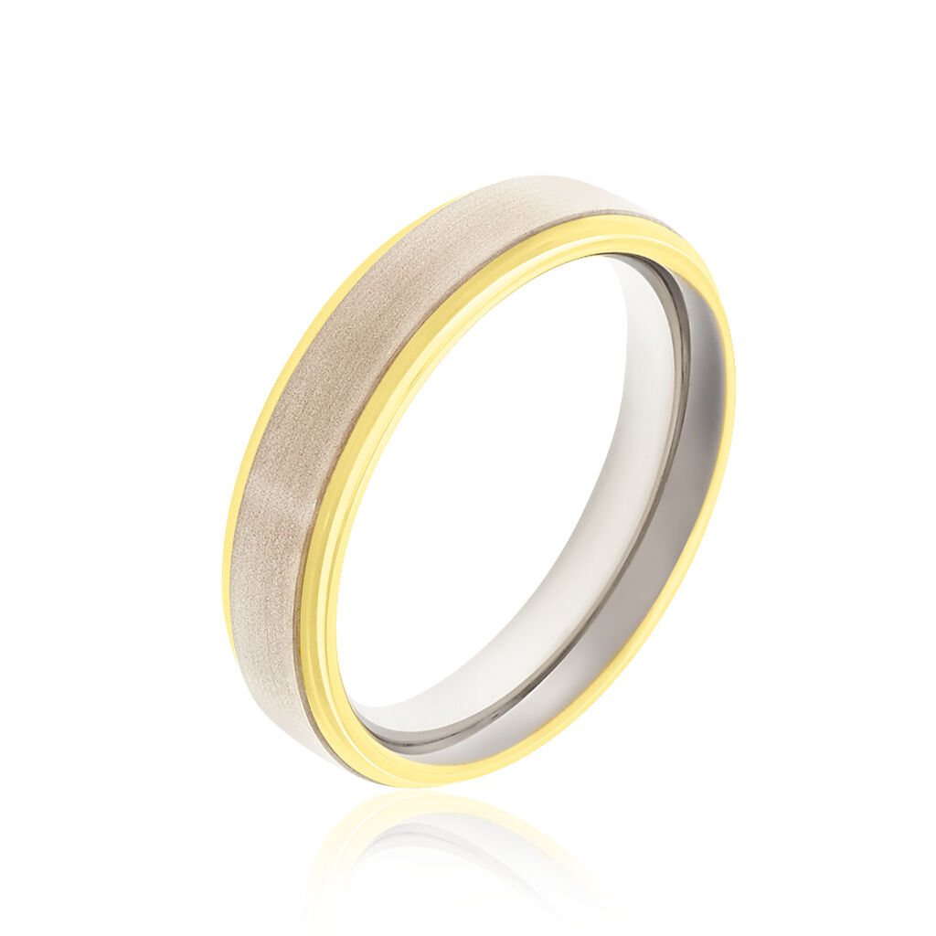Boccia Damenring Titan Bicolor  - Ringe Damen | Oro Vivo