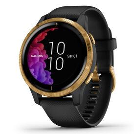 Garmin Unisexuhr Venu 010-02173-32 Smartwatch - Chronographen Unisex | Oro Vivo