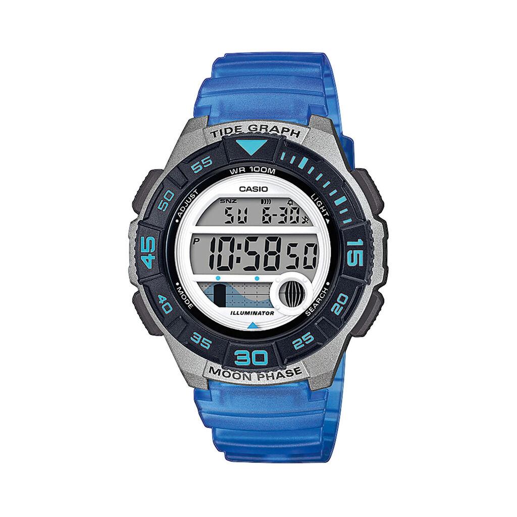 Casio Collection Damenuhr Lws-1100h-2avef Digital - Chronographen Damen   Oro Vivo
