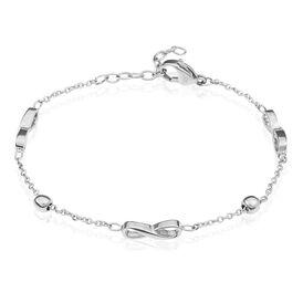 Damenarmband Edelstahl Infinity Kugeln - Armbänder Damen | Oro Vivo