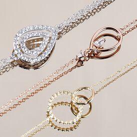 Damenarmband Silber 925 Rosé Vergoldet Zirkonia - Armbänder Damen | Oro Vivo