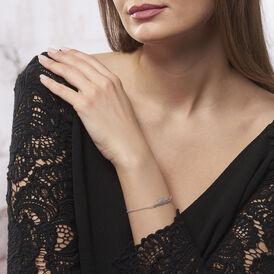 Damenarmband Silber 925 Feder - Armbänder Damen | Oro Vivo