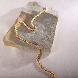 Damenarmband Kordelkette Gold 585  - Armketten  | Oro Vivo