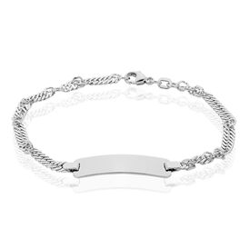 Damen Id Armband Singapurkette Silber 925  - ID-Armbänder Damen | Oro Vivo