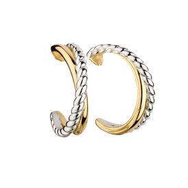 Damen Ohrstecker Lang Vergoldet - Ohrringe Damen | Oro Vivo