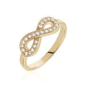 Damenring Vergoldet Zirkonia Infinity - Ringe mit Stein Damen | Oro Vivo